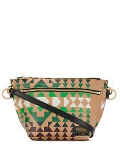 Sacai сумка через плечо с принтом Pendleton