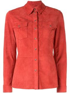 Desa 1972 жакет-рубашка на клепках