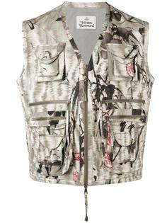 Vivienne Westwood Archive Jacquard Savage waistcoat