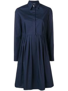 Fay платье с плиссировкой