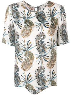 Etro блузка с принтом пейсли