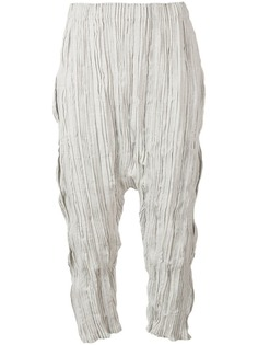 Issey Miyake Men укороченные брюки-шаровары
