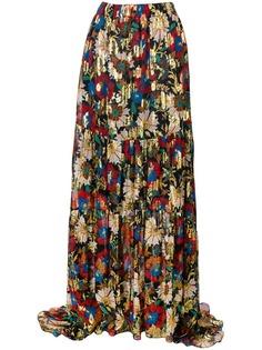 Длинные юбки с запахом