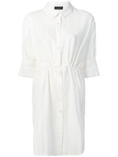 Roberto Collina платье-рубашка в полоску