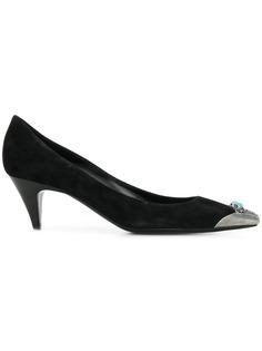 Saint Laurent туфли-лодочки Charlotte с декором