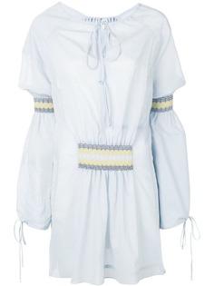 Loewe блузка с завязками Blusa