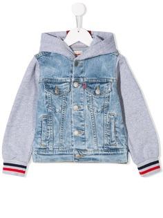 Levis Kids джинсовая куртка-бомбер