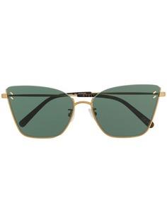 Stella McCartney солнцезащитные очки в оправе кошачий глаз
