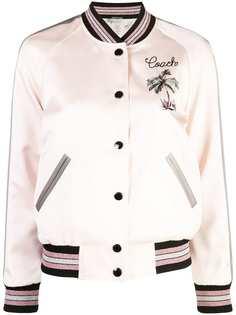 Coach двусторонняя куртка