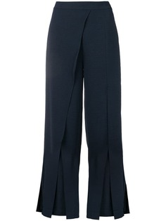 Jovonna layered panel trousers