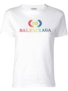 Balenciaga футболка Laurier S/S