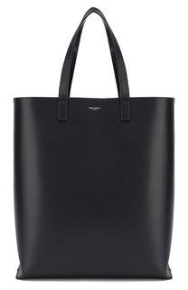 Кожаная сумка-шоппер Bold 1 Saint Laurent