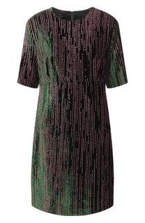 Бархатное платье Escada