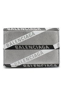 Портмоне из металлизированной кожи Balenciaga