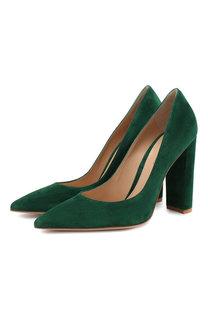 Замшевые туфли Piper 105 Gianvito Rossi