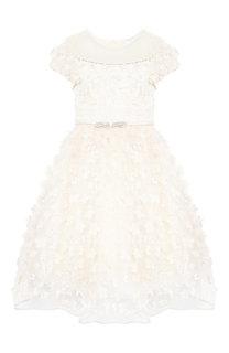 Платье с поясом Monnalisa
