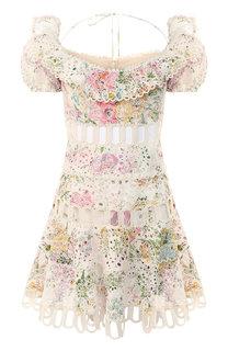 Хлопковое платье Zimmermann