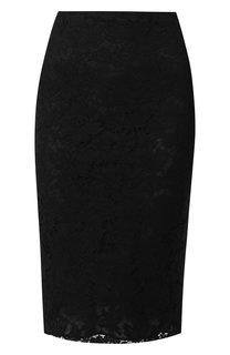 Кружевная юбка-миди Valentino