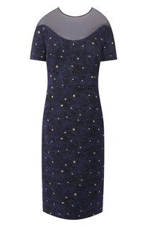 Платье из смеси хлопка и вискозы Escada