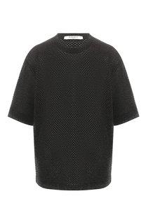 Пуловер из смеси хлопка и вискозы Givenchy