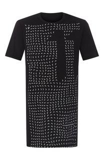 Хлопковая футболка 11 by Boris Bidjan Saberi