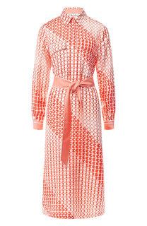 Шелковое платье Loro Piana