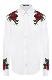 bc3a95e087f Женские рубашки с длинным рукавом Dolce   Gabbana – купить в ...