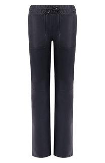 Кожаные брюки Loro Piana