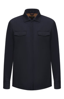 Шерстяная куртка Long Shirt Loro Piana