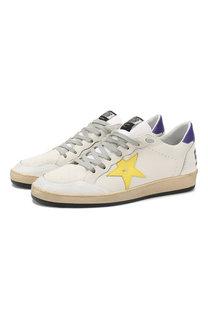 Кожаные кеды Ballstar Golden Goose Deluxe Brand