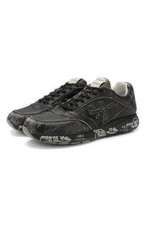 Кожаные кроссовки Zac-Zac Premiata