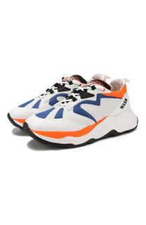 Комбинированные кроссовки MSGM