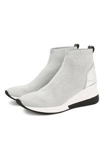 Текстильные кроссовки Skyler MICHAEL Michael Kors