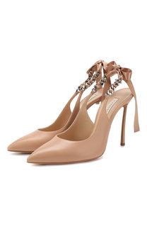 Кожаные туфли Kelly Casadei