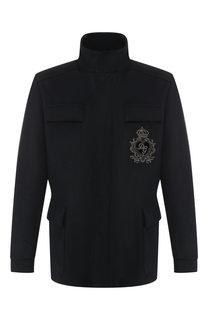 Кашемировая пуховая куртка Dolce & Gabbana