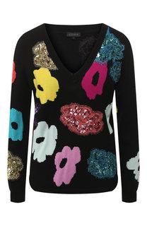 Шерстяной пуловер Escada