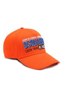 Хлопковая бейсболка Dsquared2