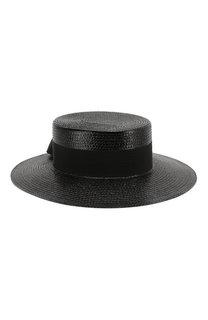 Шляпа из смеси вискозы и хлопка Saint Laurent