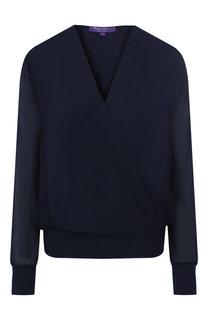 Пуловер из смеси шерсти и шелка Ralph Lauren