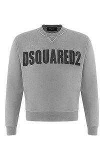 Хлопковый свитшот Dsquared2
