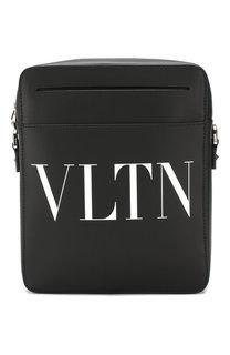 Кожаная сумка-планшет Valentino Garavani VLTN Valentino