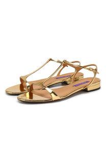 Кожаные сандалии Ralph Lauren