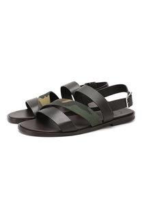 Кожаные сандалии Doucals Doucals