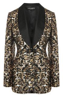 Жакет с пайетками Dolce & Gabbana