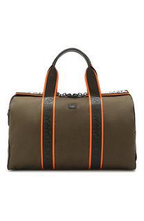 Текстильная дорожная сумка Militare Dolce & Gabbana