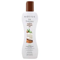 Шампунь-бальзам для волос, гель для душа BIOSILK SILK TERAPY 3 в 1 с органическим кокосовым маслом 355 мл