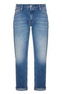 Голубые джинсы Calvin Klein