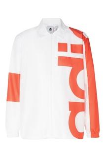 Красно-белая ветровка Big Adi Adidas