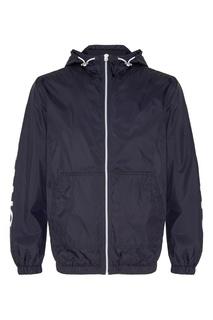 Синяя куртка с капюшоном Calvin Klein