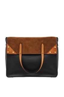 Комбинированная сумка-тоут Fendi Flip